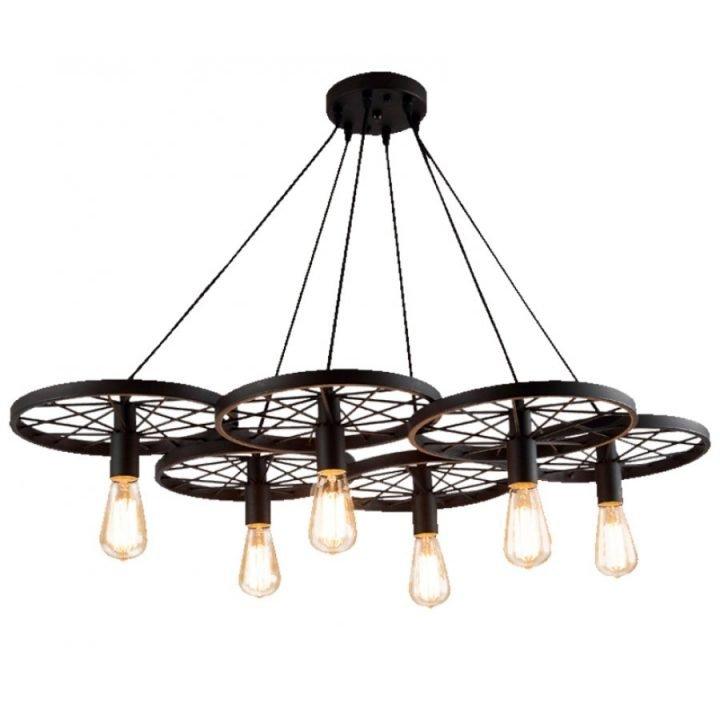 Azzardo AZ 1650 RANCH több ágú függeszték lámpa