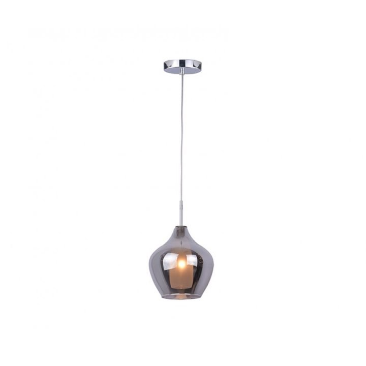 Azzardo AZ 2148 AMBER MILANO 1 ágú függeszték lámpa