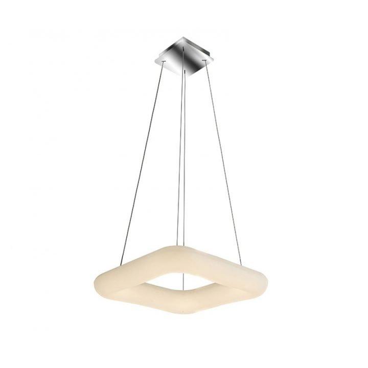 Azzardo AZ 2666 DONUT SQUARE LED 1 ágú függeszték lámpa