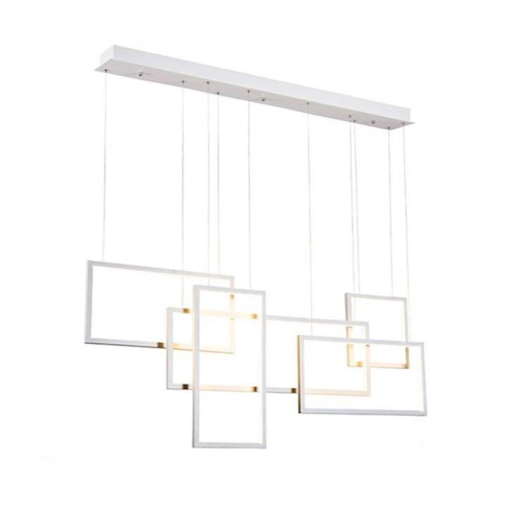 Azzardo AZ 2851 QUADRATUS LED több ágú függeszték lámpa