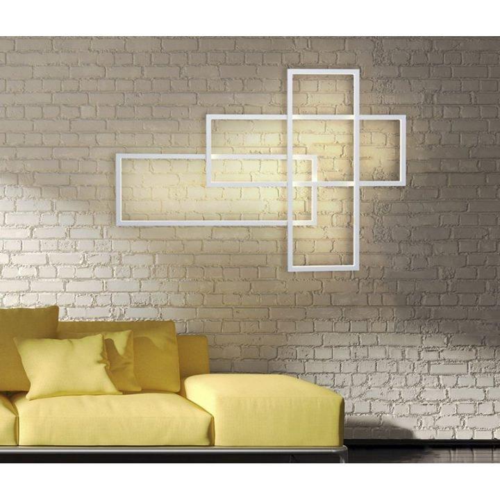 Azzardo AZ 2993 QUADRATUS LED fali lámpa