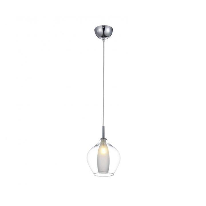 Azzardo AZ 3074 AMBER MILANO 1 ágú függeszték lámpa