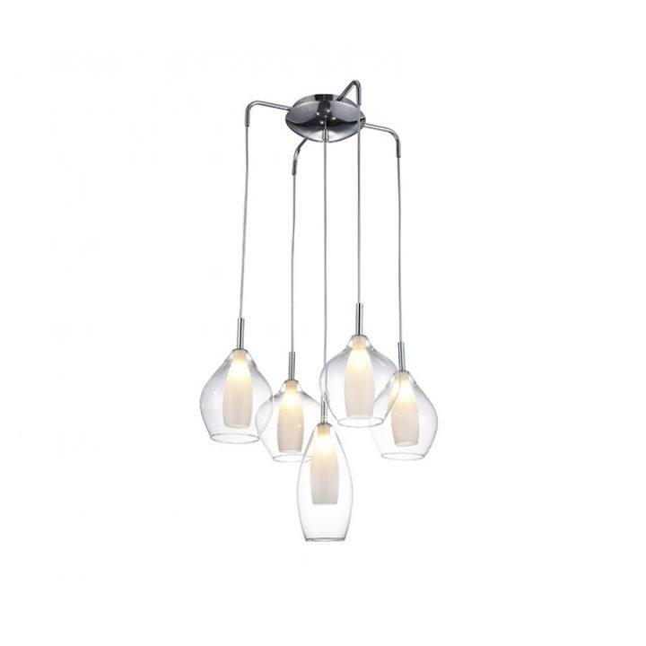 Azzardo AZ 3076 AMBER MILANO több ágú függeszték lámpa