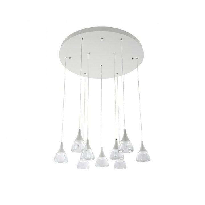 Azzardo AZ 3144 DALMATIA LED több ágú függeszték lámpa