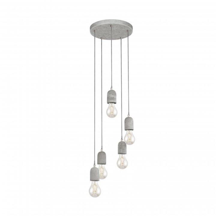 EGLO 95524 SILVARES több ágú függeszték lámpa