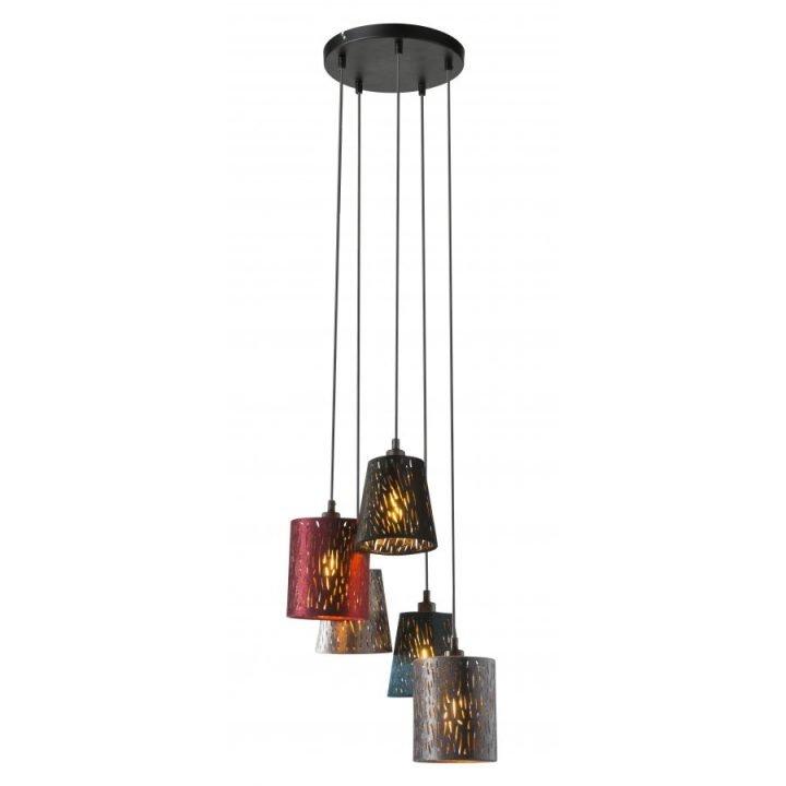 GLOBO 15266 5H TICON több ágú függeszték lámpa