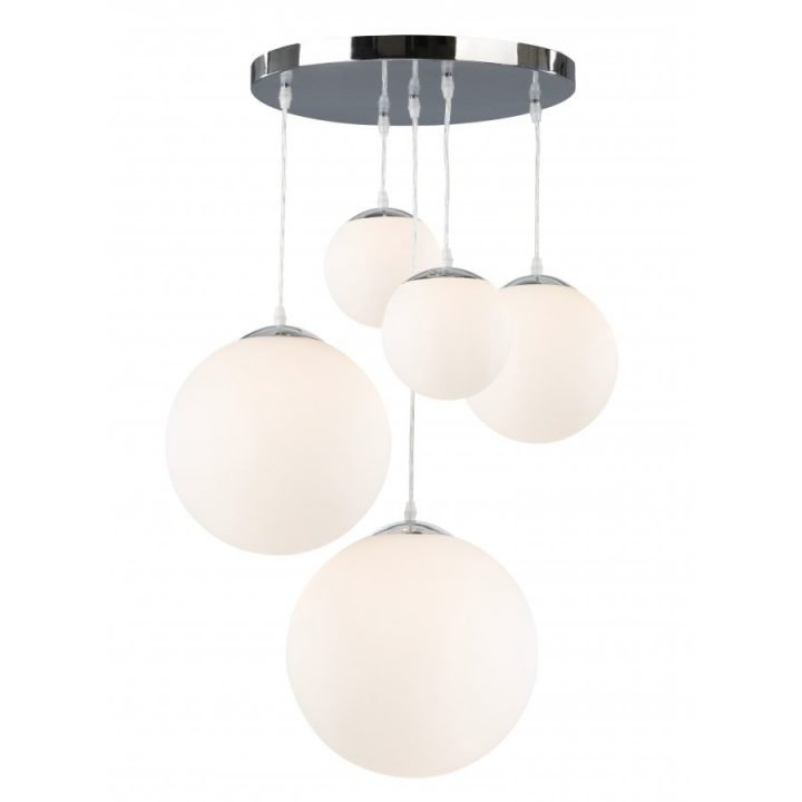 GLOBO 1581 5 BALLA több ágú függeszték lámpa