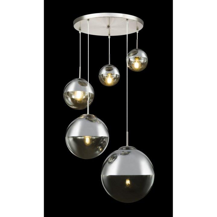 GLOBO 15851 5 VARUS több ágú függeszték lámpa
