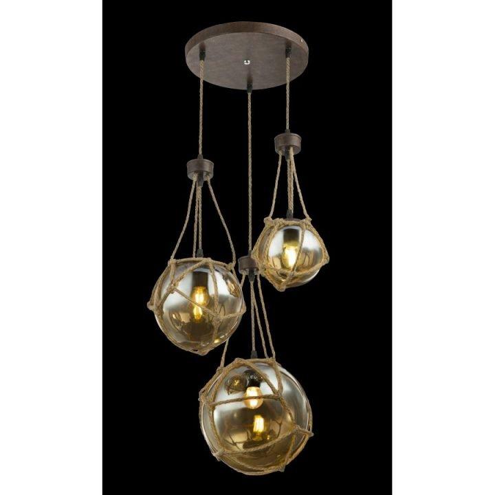 GLOBO 15859 3H TIKO több ágú függeszték lámpa