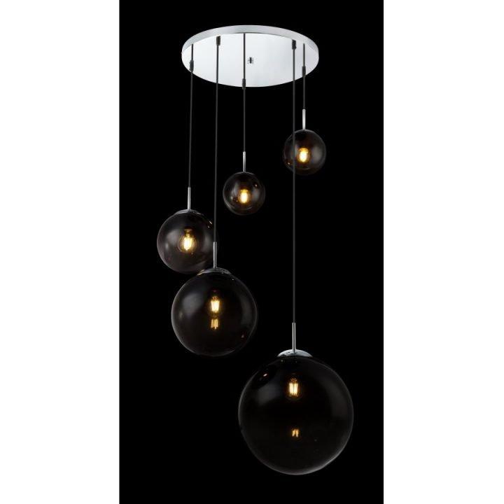 GLOBO 15861 5 VARUS több ágú függeszték lámpa