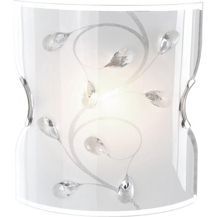 GLOBO 40404W BURGUNDY fali lámpa