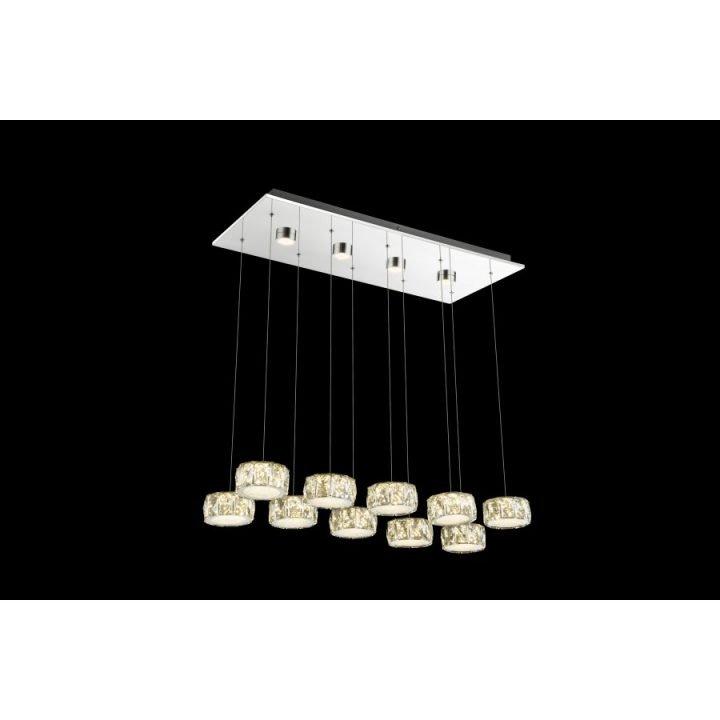 GLOBO 49350 92H AMUR több ágú függeszték LED lámpa