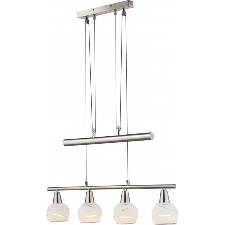 GLOBO 54341 4Z ELLIOTT több ágú függeszték lámpa
