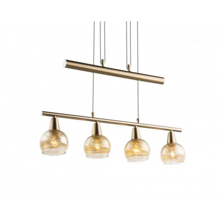 GLOBO 54346 4Z LARA több ágú függeszték lámpa