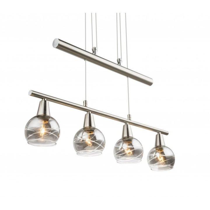 GLOBO 54348 4Z ROMAN több ágú függeszték lámpa