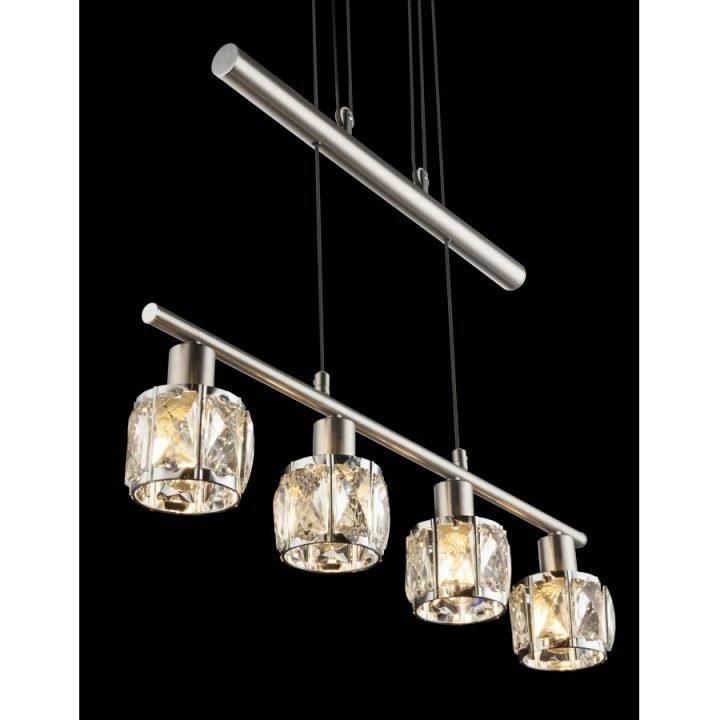 GLOBO 54356 4Z KRIS több ágú függeszték lámpa