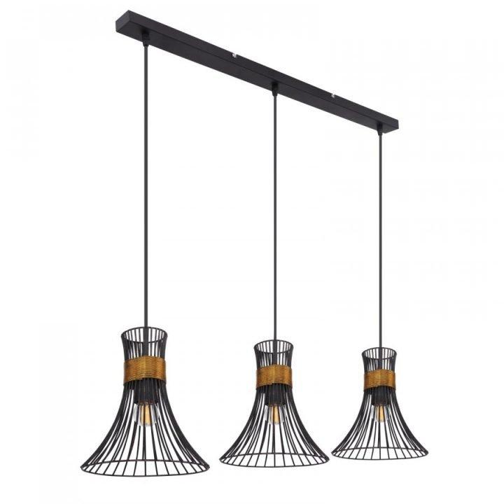 GLOBO 54814 3H PURRA több ágú függeszték lámpa