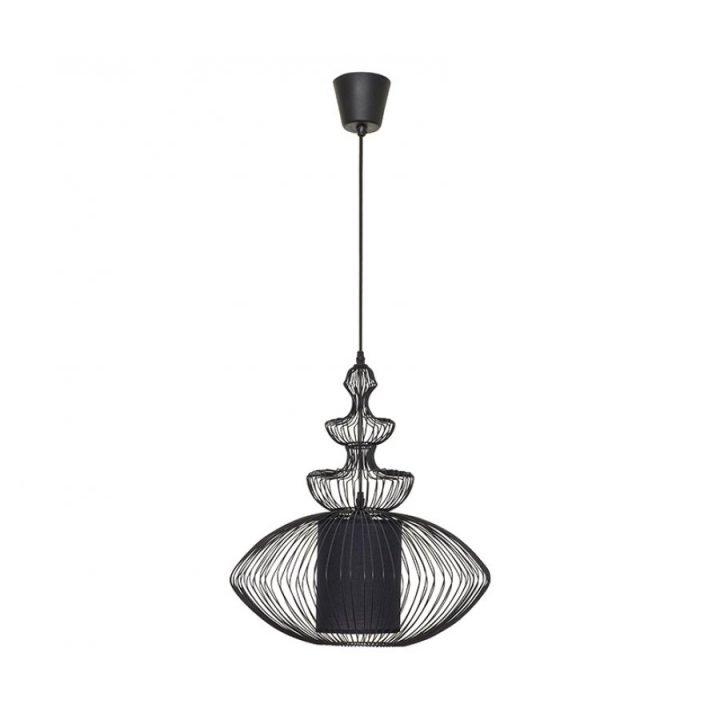 Nowodvorski TL 4614 AIDA BLACK 1 ágú függeszték lámpa