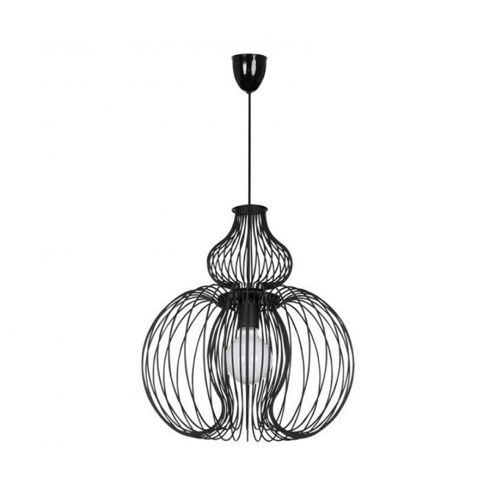Nowodvorski TL 5298 MEKNES BLACK 1 ágú függeszték lámpa