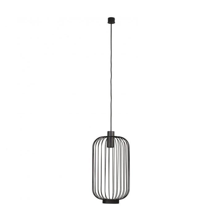 Nowodvorski TL 6844 CAGE BLACK 1 ágú függeszték lámpa