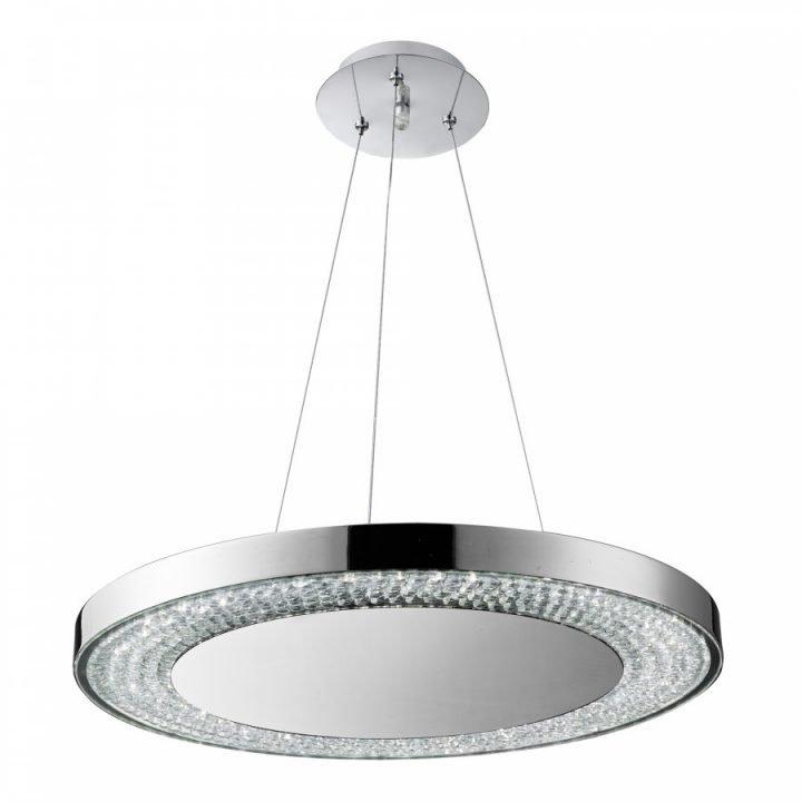 Searchlight 58880 80CC HALO 1 ágú függeszték LED lámpa