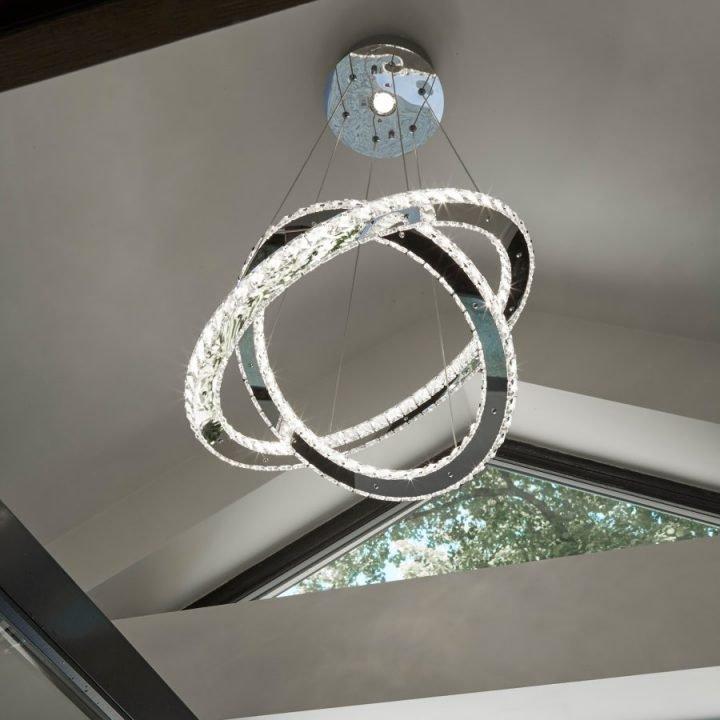 Searchlight 8757 168CC CLOVER több ágú függeszték LED lámpa