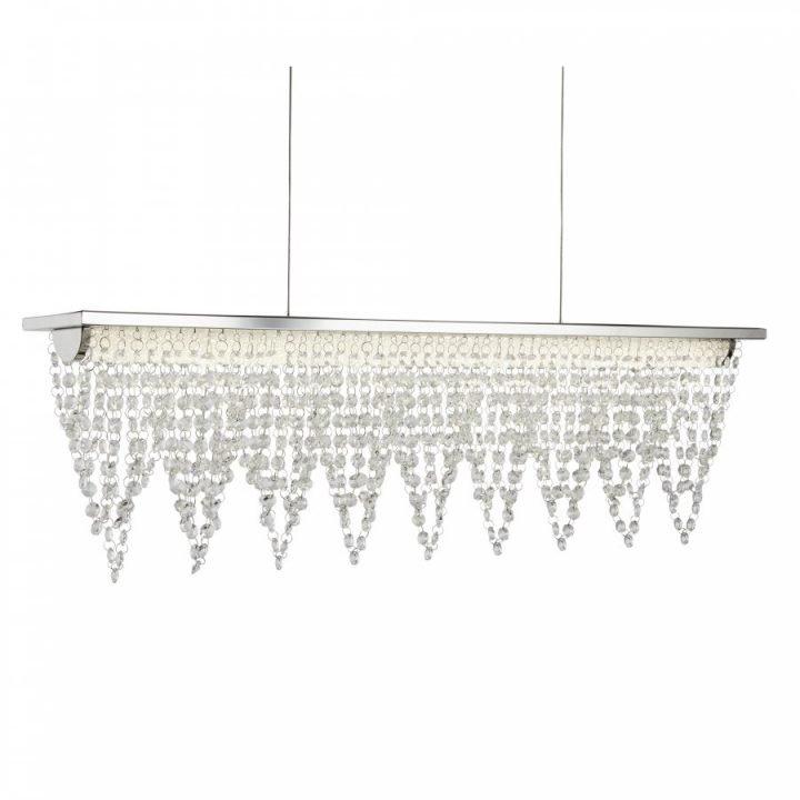 Searchlight 8857CC DRAPE több ágú függeszték LED lámpa