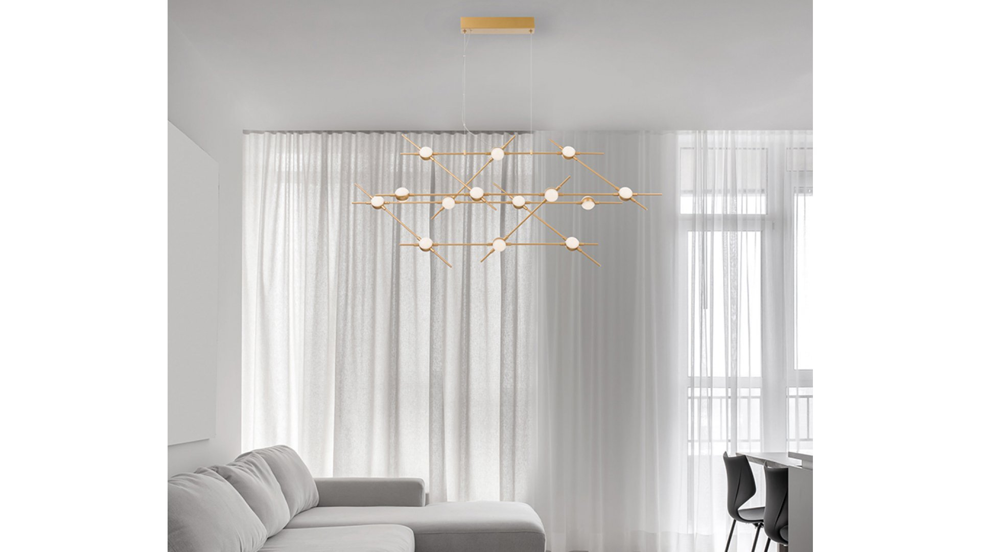 Nova Luce NL 9180614 ATOMO több ágú függeszték LED lámpa