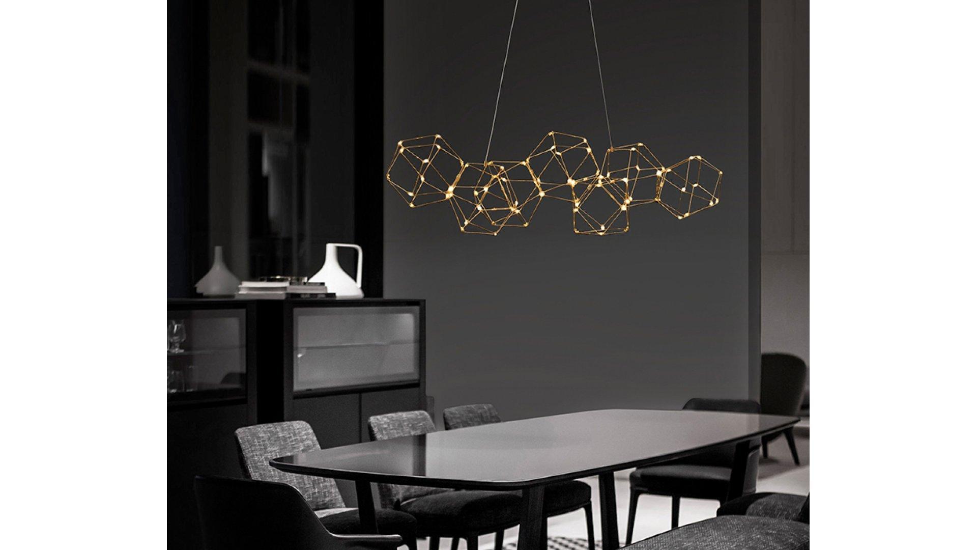 Nova Luce NL 9186807 NEBULA több ágú függeszték LED lámpa